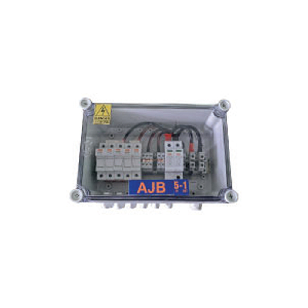 Solar Array Junction Box 5 In 1 Out