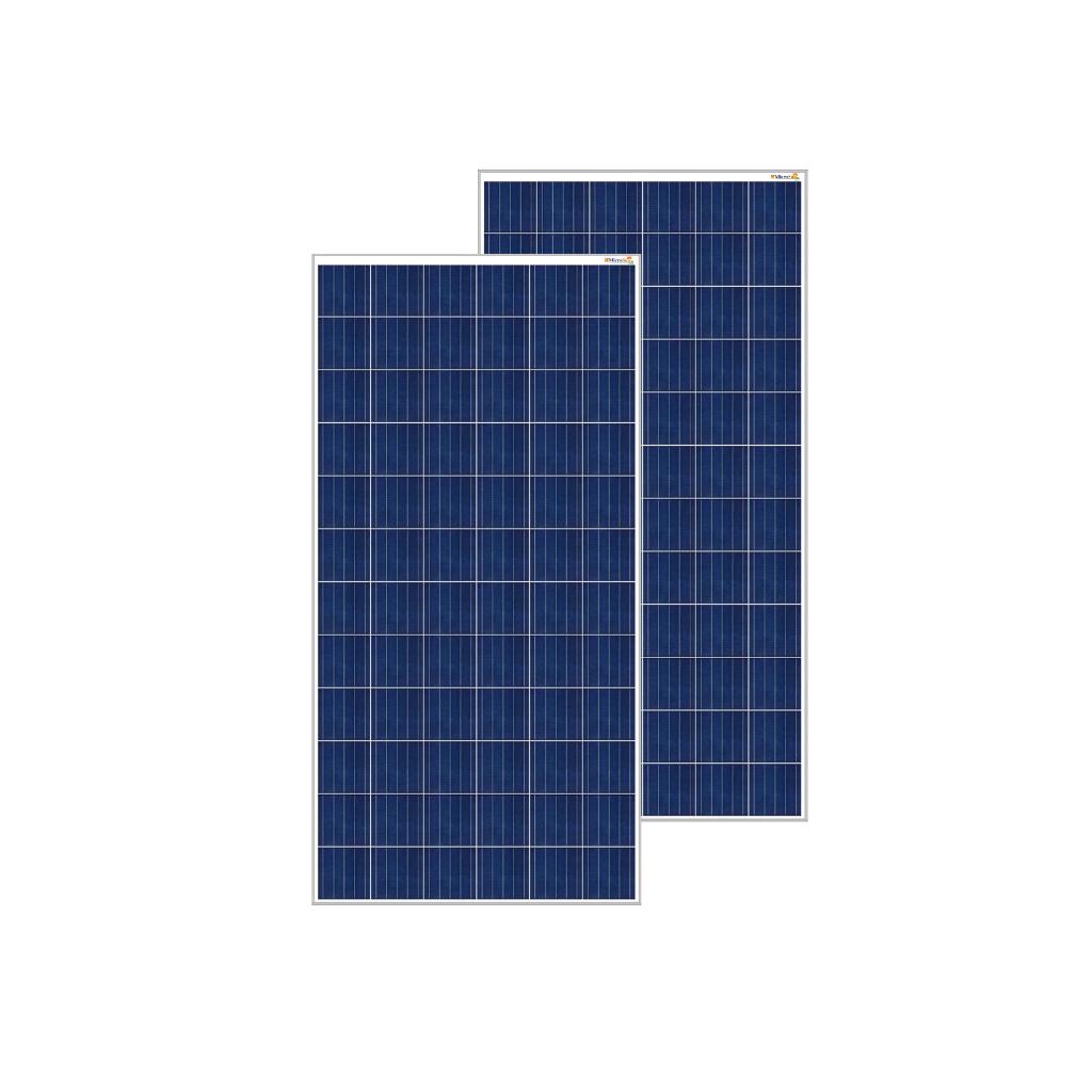 MicroSun Solar Panel 250 Watt - 24 Volt Poly Module (Pack of 2)