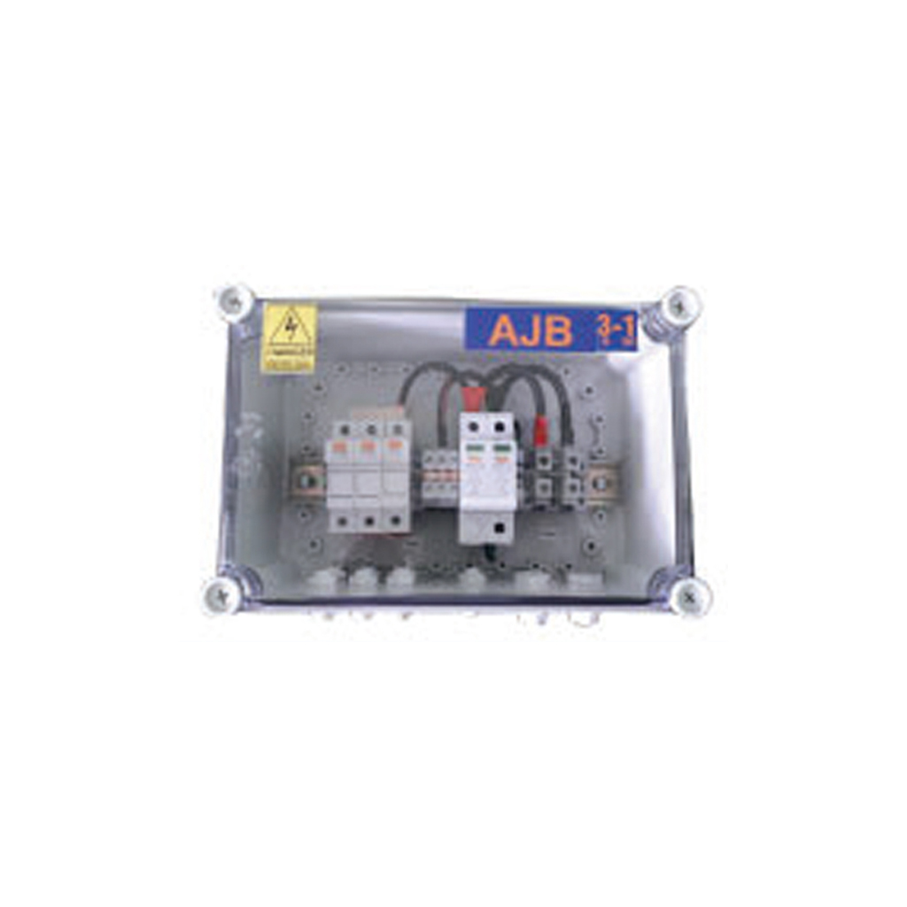 Solar Array Junction Box 2 In 1 Out