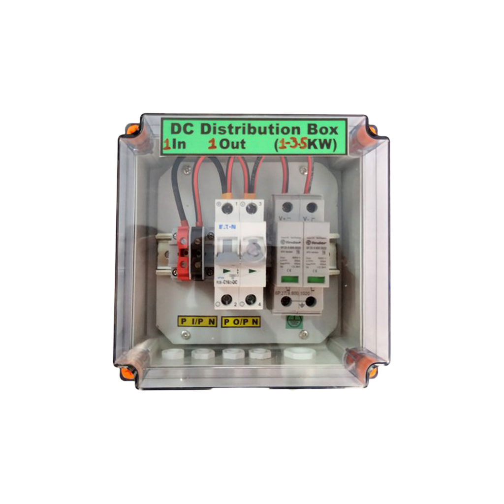 DC Distribution Box 1 IN 1 OUT with 1 SPD -DCDB