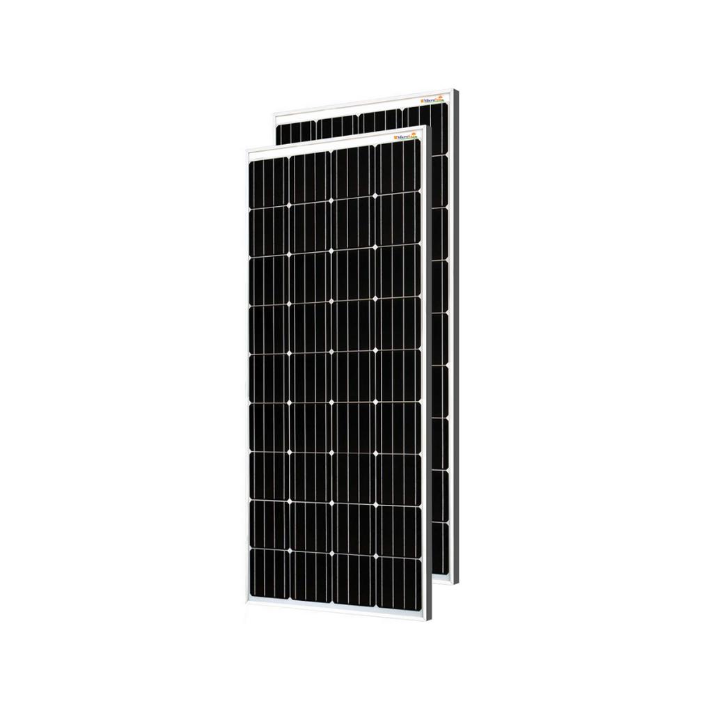 MicroSun Solar Panel 200 Watt - 12 Volt MONO Module (Pack of 2)