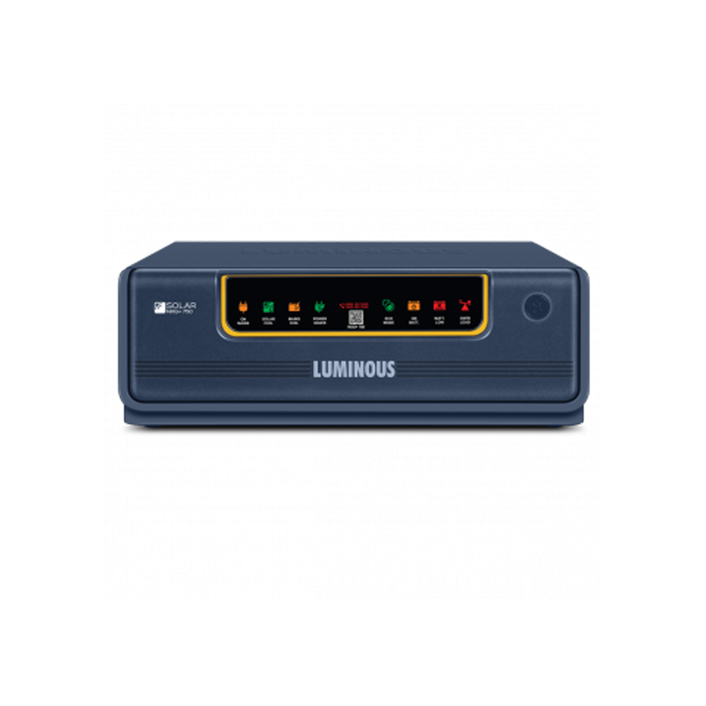 Luminous NXG +750 (400VA/12V) Hybrid Solar  UPS