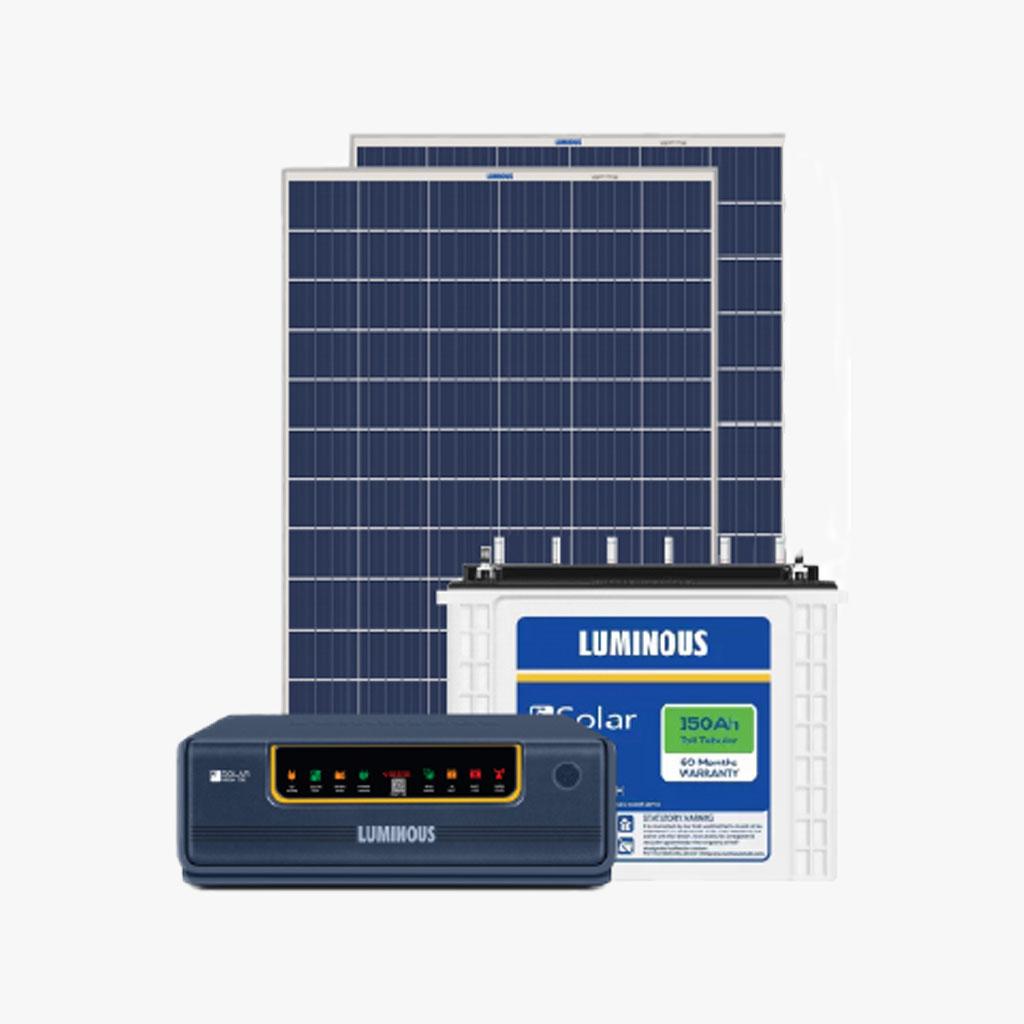 LUMINOUS 300 Wp Solar Standard Smart Home System