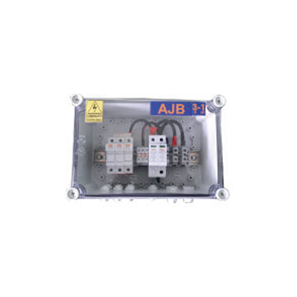 Solar Array Junction Box 3 In 1 Out