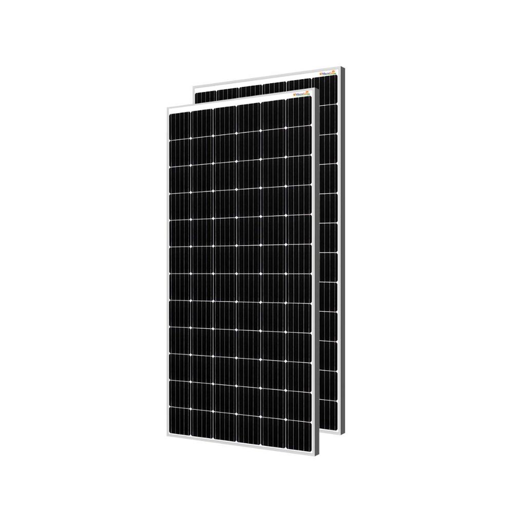 MicroSun Solar Panel 380 Watt - 24 Volt Mono Perc Module (Pack of 8)