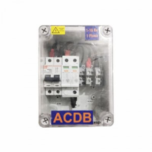 AC Distribution Box 1 to 10 KW Single Phase -ACDB