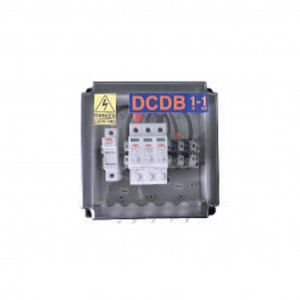 Solar DC Distribution Box (DCDB) 1 in 1 out